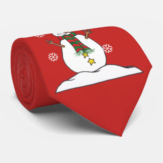 Let It Snow - Snowman - Tie