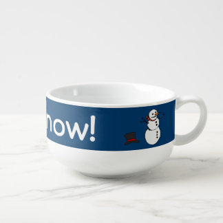 Let it Snow Soup Mug