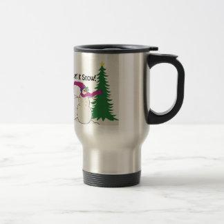 Let It Snow! Stainless Steel Travel Mug
