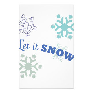 Let It Snow Stationery