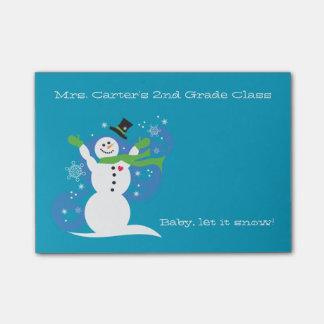 Let It Snow- Teacher's note (horizontal)