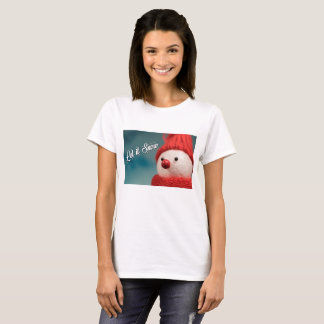 Let it Snow Winter Holiday Christmas Women's Shirt
