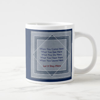 Let It Stay Here Version Two Large Coffee Mug