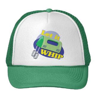Let It Whip Mesh Hat