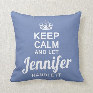 Let Jennifer handle it Throw Pillow