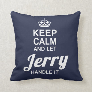 Let Jerry handle it! Throw Pillow