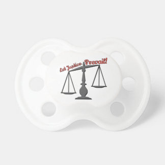 Let Justice Prevail! BooginHead Pacifier