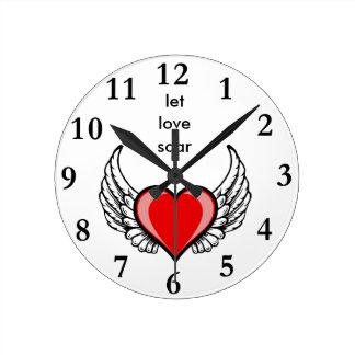 let love soar clocks
