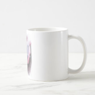Let me hold your hand classic white coffee mug