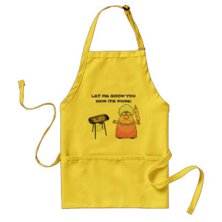 LET ME SHOW YOU HOW ITS DONE! STANDARD APRON