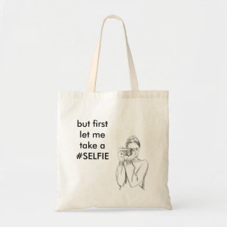 Let me take a #SELFIE Tote Bag