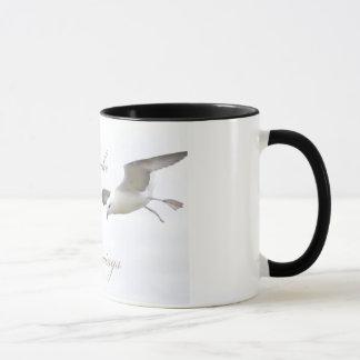 Let me take you under my wings mug