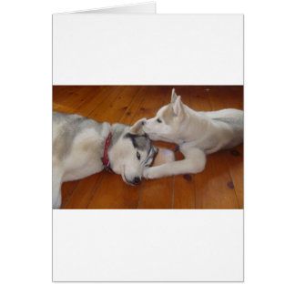 """Let me whisper in your ear....""""I love you"""". Card"""
