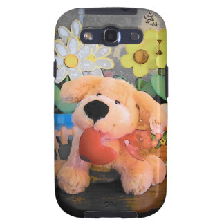 Let my Heart be your best friend Stuffed Dog Samsung Galaxy SIII Cases