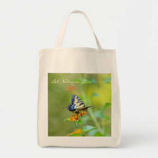 Let Nature Live! Grocery Tote Bag