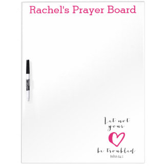 Let Not Your Heart Be Troubled Prayer Board