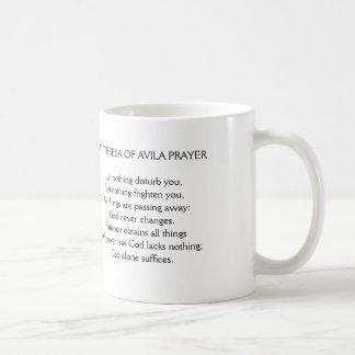 Let Nothing Disturb You Prayer Mug