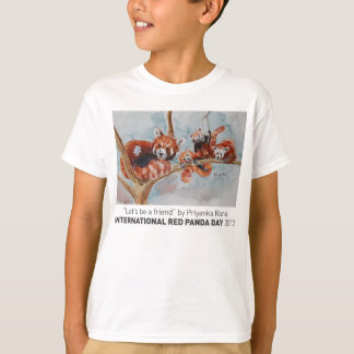 """Let's be a Friend"" Kid's Tee"