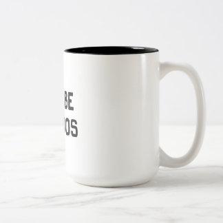 Let's Be Weirdos Two-Tone Coffee Mug