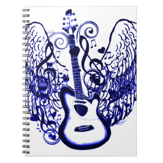 Let s Fly Rock N Roll_ Spiral Notebook