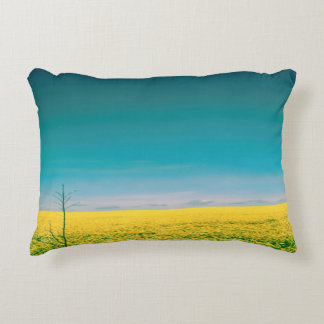 Let's go wait out in the fields decorative pillow