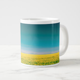 Let's go wait out in the fields large coffee mug