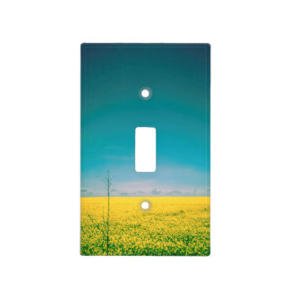Let's go wait out in the fields light switch cover