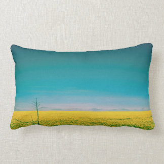 Let's go wait out in the fields lumbar pillow