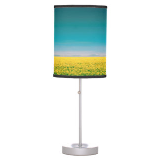 Let's go wait out in the fields table lamp