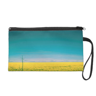 Let's go wait out in the fields wristlet
