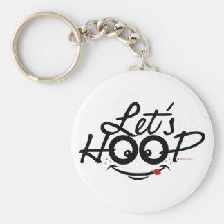 Let s Hoop key chains
