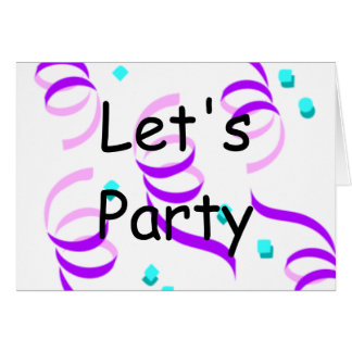 Let s Party Cards
