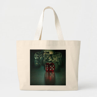 Let`s play (Dice) Large Tote Bag