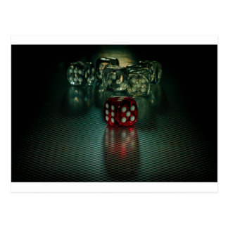 Let`s play (Dice) Postcard