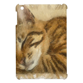Let Sleeping Cats Lie iPad Mini Cover