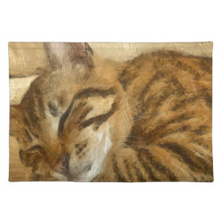 Let Sleeping Cats Lie Placemat
