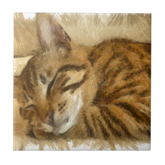 Let Sleeping Cats Lie Tile