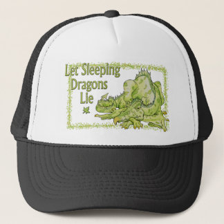 Let Sleeping Dragons Lie Trucker Hat