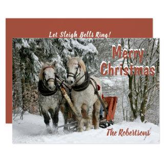 Let Sleigh Bells Ring!  - Christmas Card