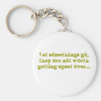 Let somethings go keychain