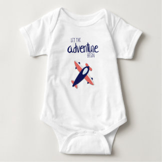 Let the Adventure Begin 02 Baby Bodysuit