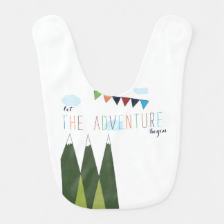 Let the Adventure Begin Bib