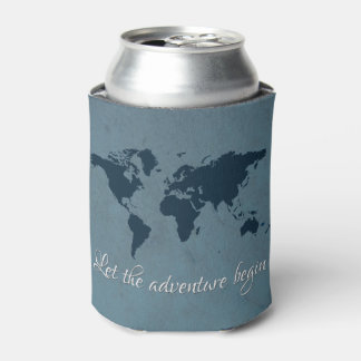 Let the adventure begin can cooler