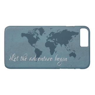 Let the adventure begin iPhone 8 plus/7 plus case