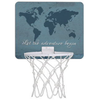 Let the adventure begin mini basketball hoop