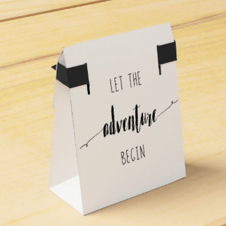 Let the Adventure Begin Quote Favor Box