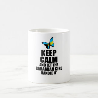 Let the Bahamian Girl Handle It Coffee Mug