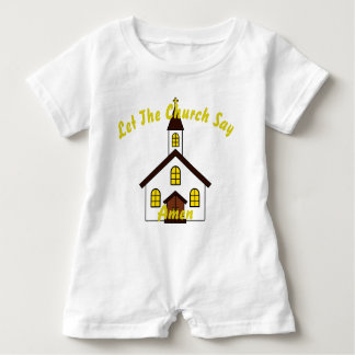 Let The Church Say, Baby Romper