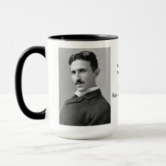 Let the Future Tell the Truth Tesla Mug