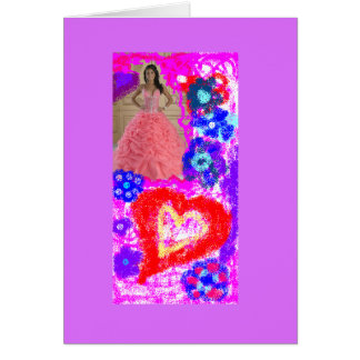 Let the good fortune, health, success in life! greeting card
